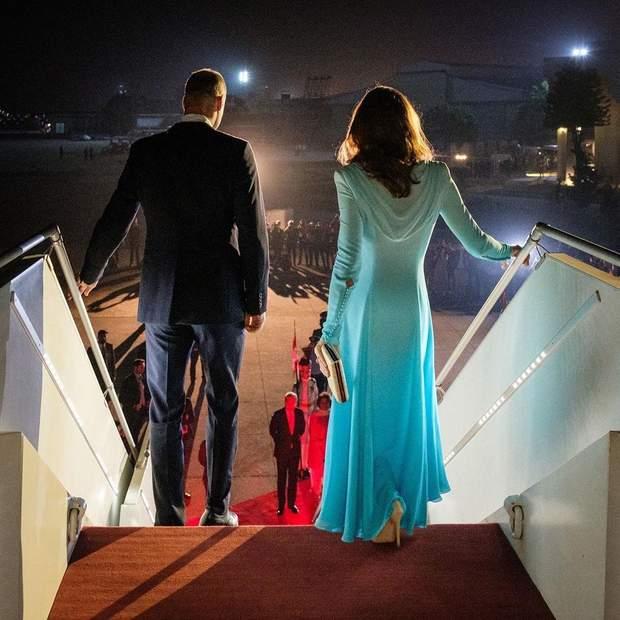 Принц Вільям та Кейт Міддлтон в Пакистані