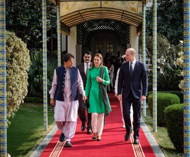 Кейт Міддлтон та принц Вільям у Пакистані