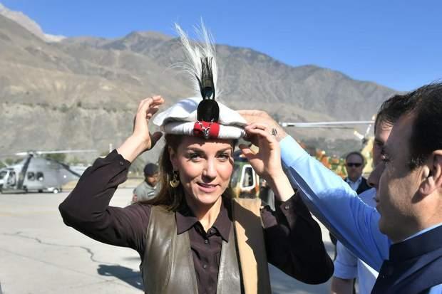 Кейт Міддлтон у Пакистані