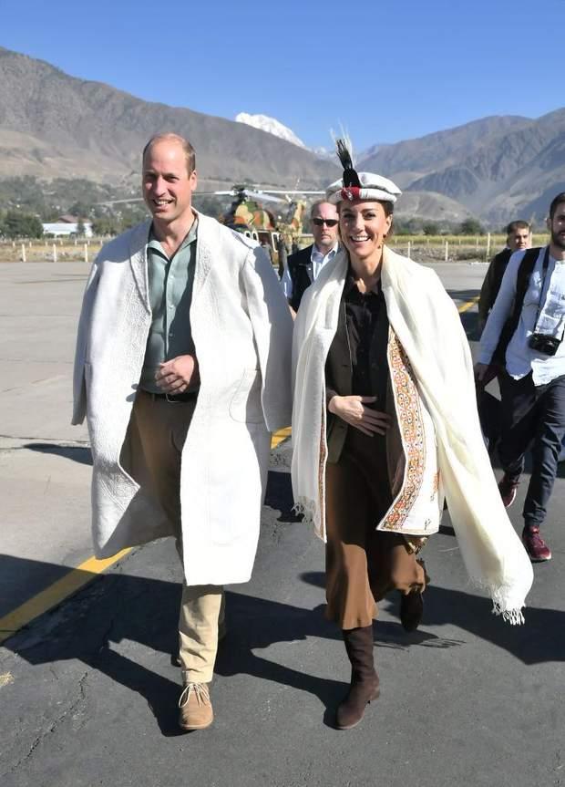 Принц Вільям і Кейт Міддлтон на кордоні з Афганістаном