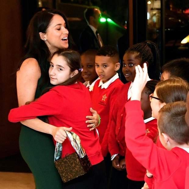 Меган Маркл на церемонії в Лондоні
