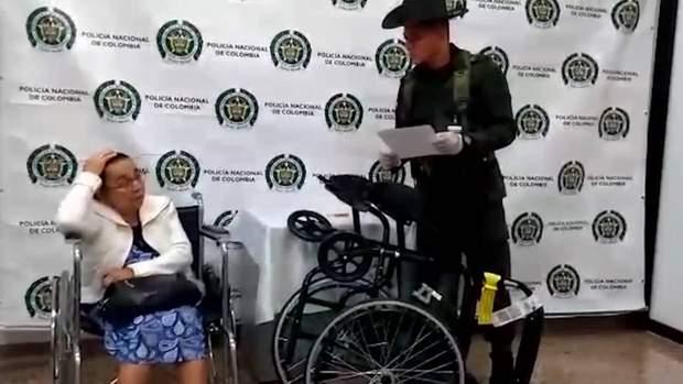 колумбія наркотики пенсіонерка
