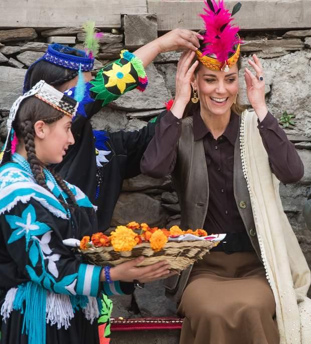 Кейт Міддлтон і принц Вільям у Пакистані