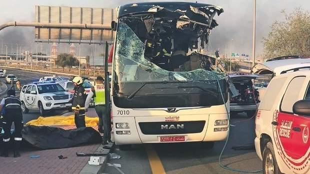 ДТП автобуса у Саудівській Аравії, 35 загиблих