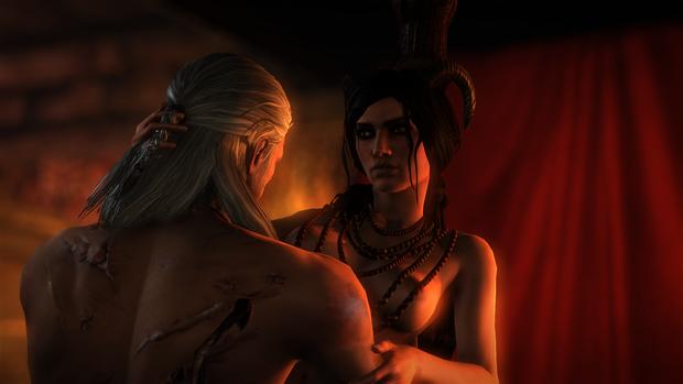 Секс-сцени грі «Відьмак»