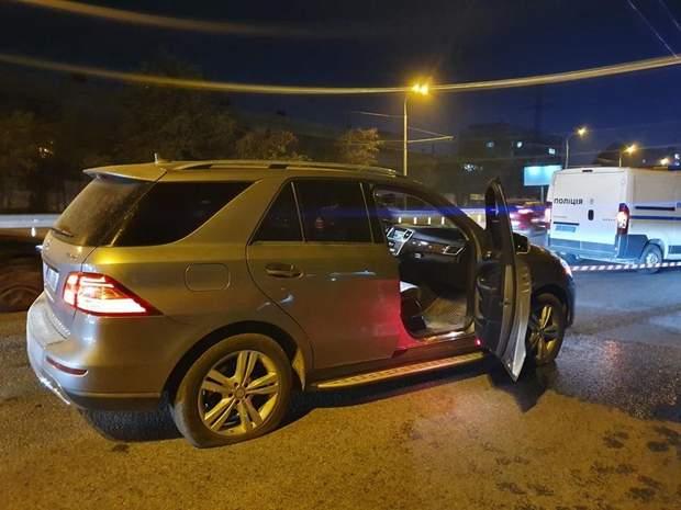 Водій Mercedes загинув на місці