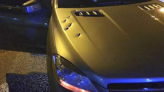 Пошкодження на Mercedes