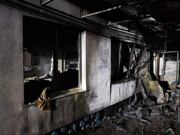 Пожежа на хімзаводі
