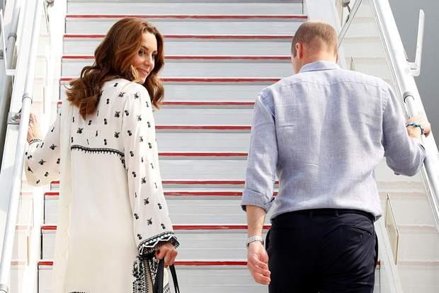 Кейт Міддлтон символічно одягнула білій одяг
