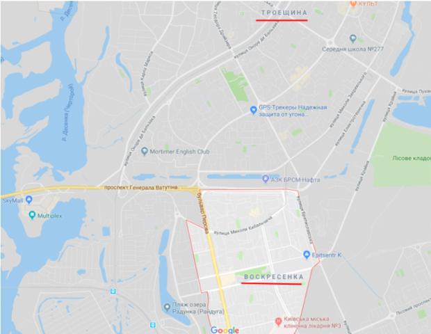 Райони Києва, де гуляв маніяк