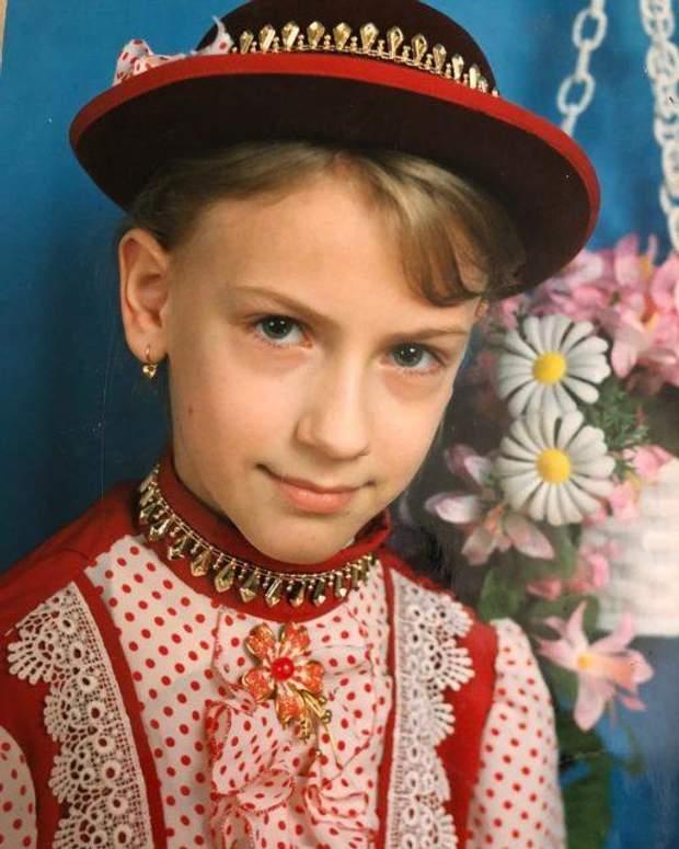 Леся Нікітюк у шкільні роки