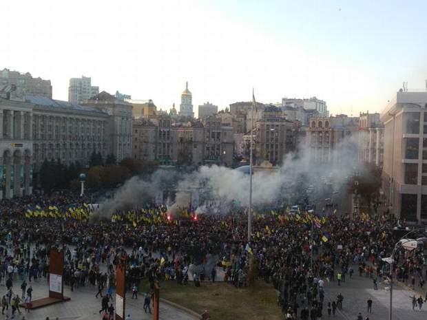 штанмаєр протести київ зеленський