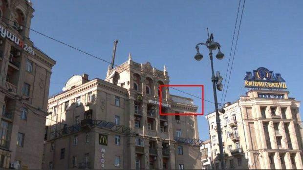 Скандальна надбудова в Києві