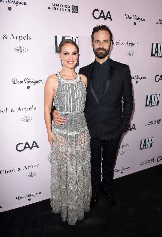 Наталі Портман з чоловіком