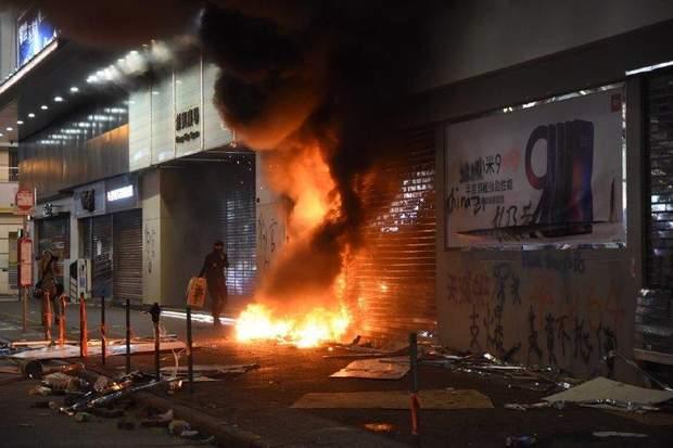 Масові протести в Гонконзі