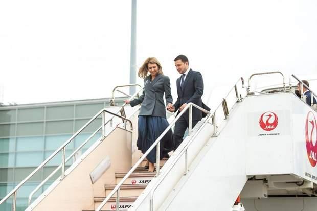 Президент  та перша леді України