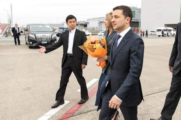 Володимир та Олена Зеленські в Японії