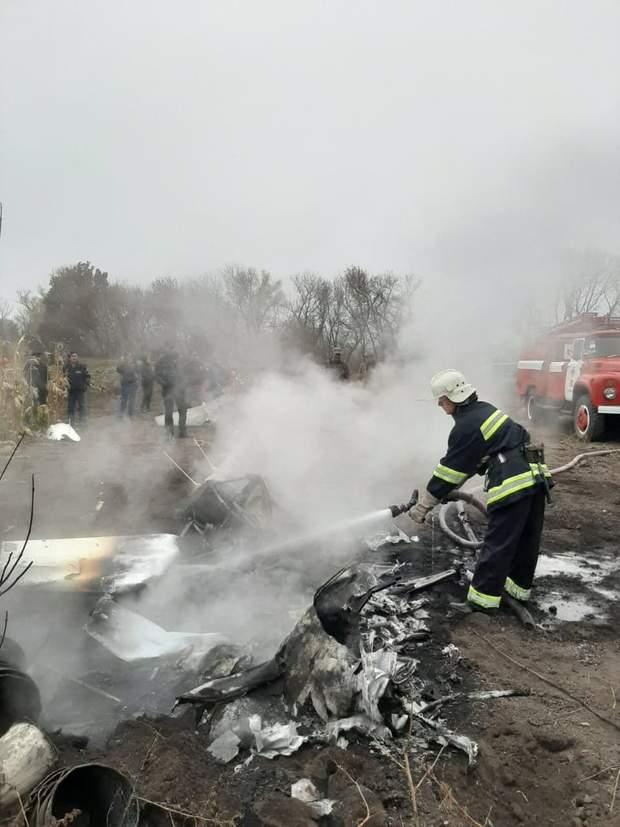 ДСНС гелікоптер впав Кутовий загинув