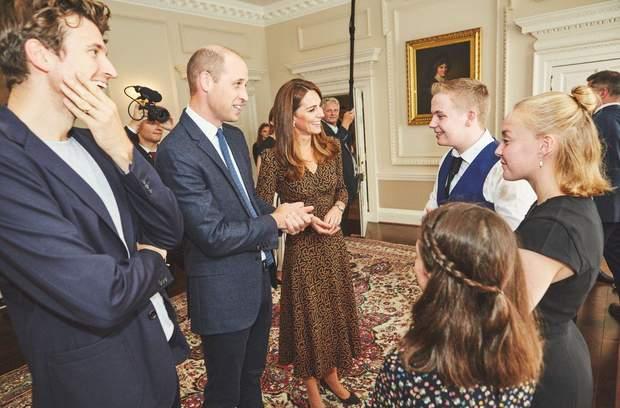 Герцоги Кембриджські зустрілись з обдарованими підлітками