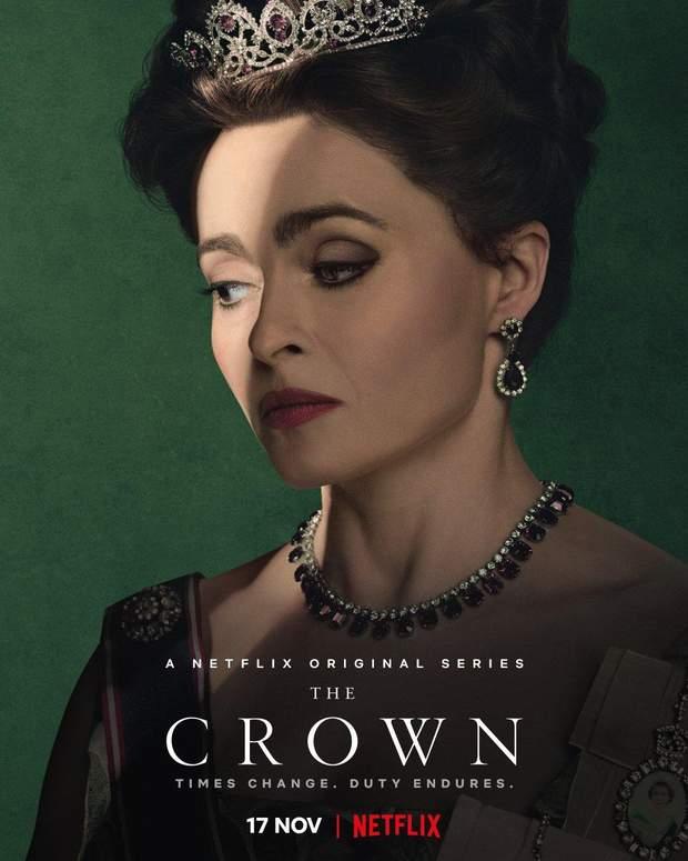 """""""Корона"""" 3 сезон: Netflix представив нові постери біографічного серіалу"""