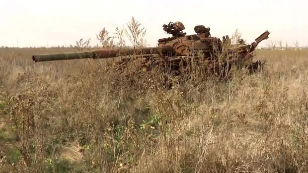 Згорілий танк