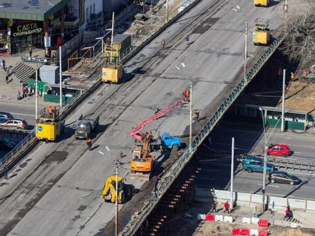 Будівництво Шулявського мосту