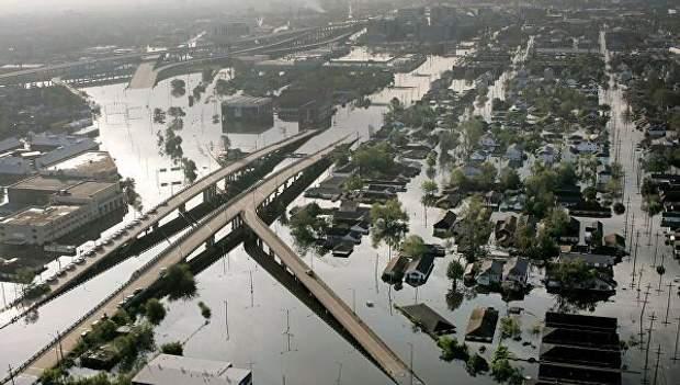 Затоплений Новий Орлеан через ураган
