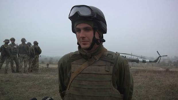 Військовий Руслан Клеменюк