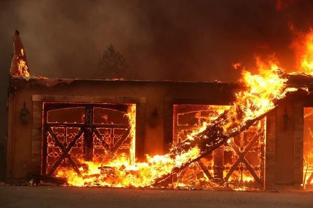 пожежа Каліфорнія