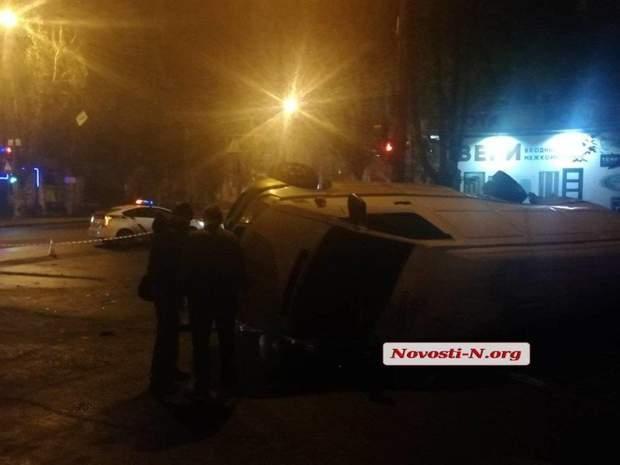 аварія у Миколаєві