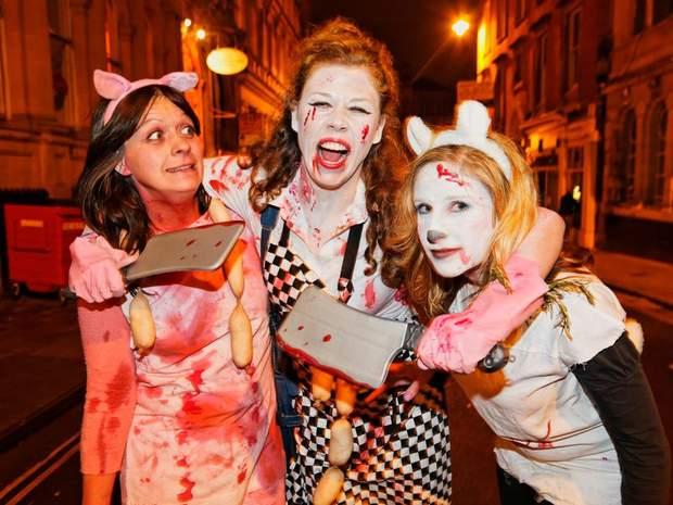Святкування Геловіну у Британії/ Фото smithsonianmag.com