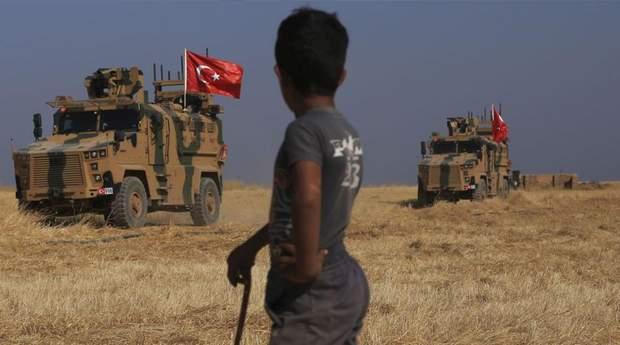 Наступ Туреччини в Сирії