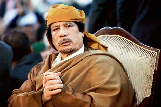 Муаммар аль-Каддафі