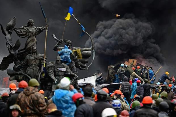 Розстріли на Майдані/ Фото Getty Images