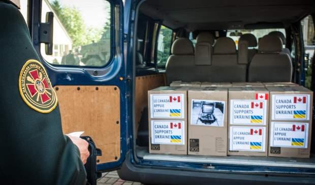 Військова допомога на Донбас від Канади/ Фото 24 каналу