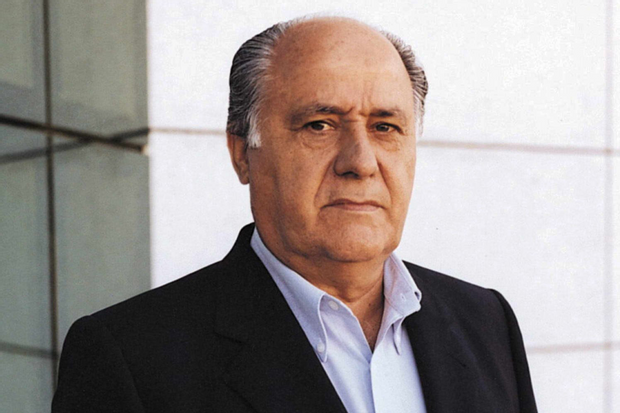 Засновник ZARA Амансіо Ортега