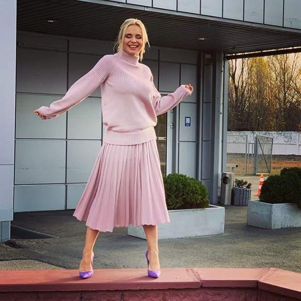 Лілія Ребрик в ефектному вбранні