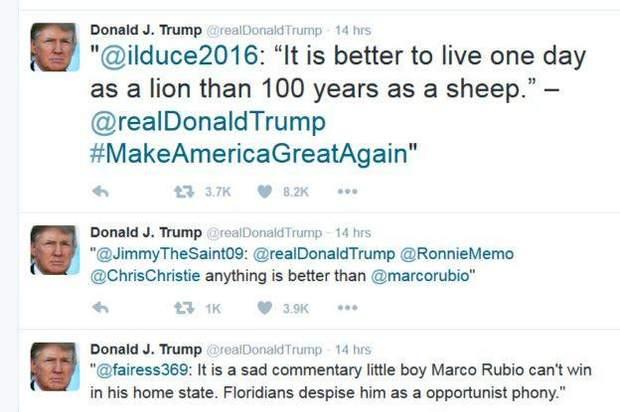 трамп твіттер
