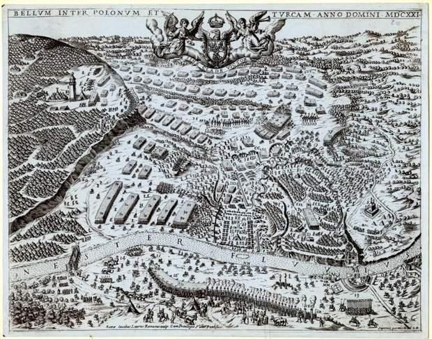 Хотинська битва, 1621 рік