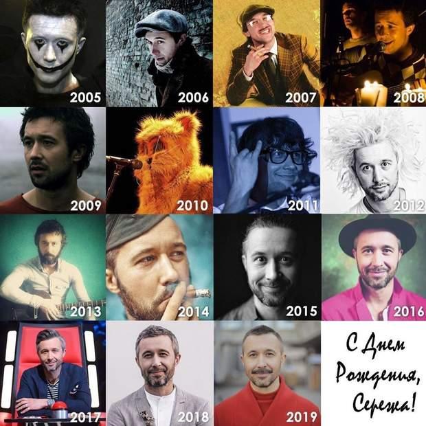 Сергій Бабкін: як змінювався його образ