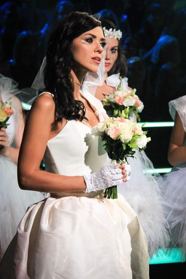 Вікторія Смеюха приміряла образ нареченої