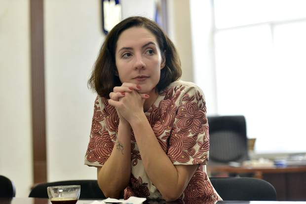 Валерія Коломієць, застіпниця міністра юстиції