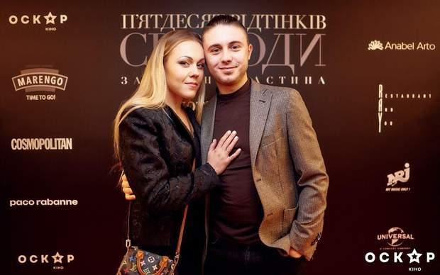 Alyosha з чоловіком Тарасом Тополею