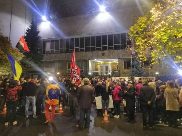 протест тополя затримання польща