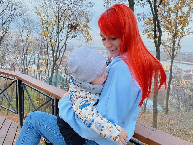 Світлана Тарабарова показала обличчя сина