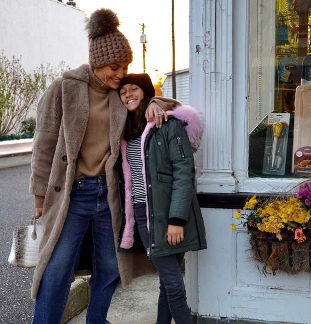 Дженніфер Лопес і дочка Емма