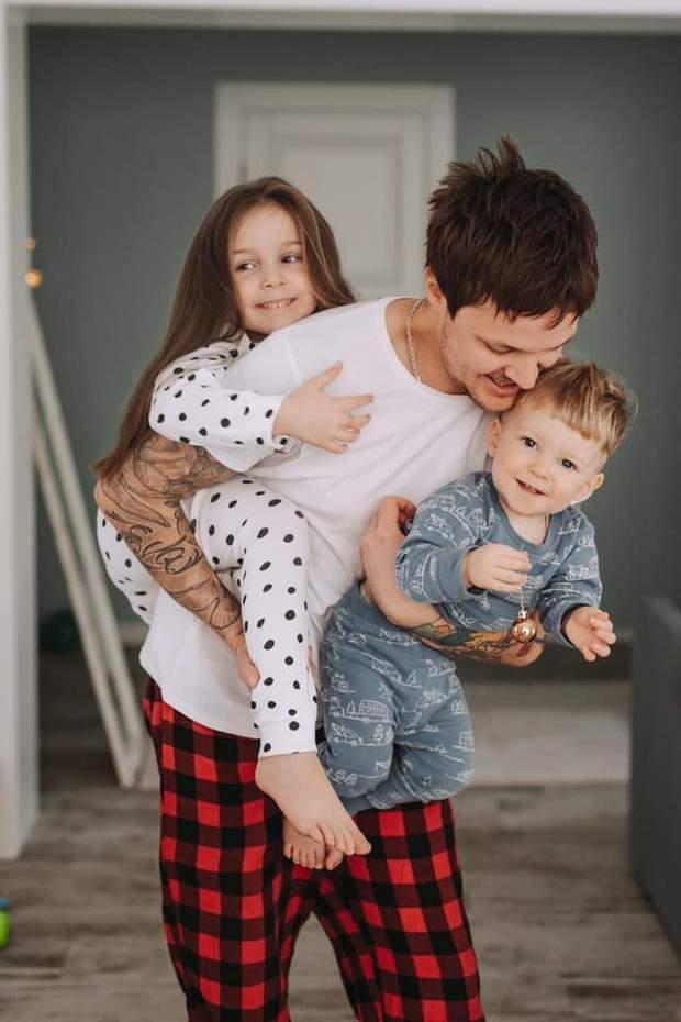 Женя Галич з дітьми