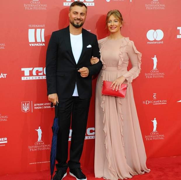 Олена Кравець з чоловіком Сергієм