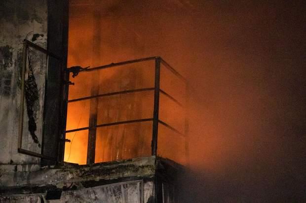 пожежа Київ