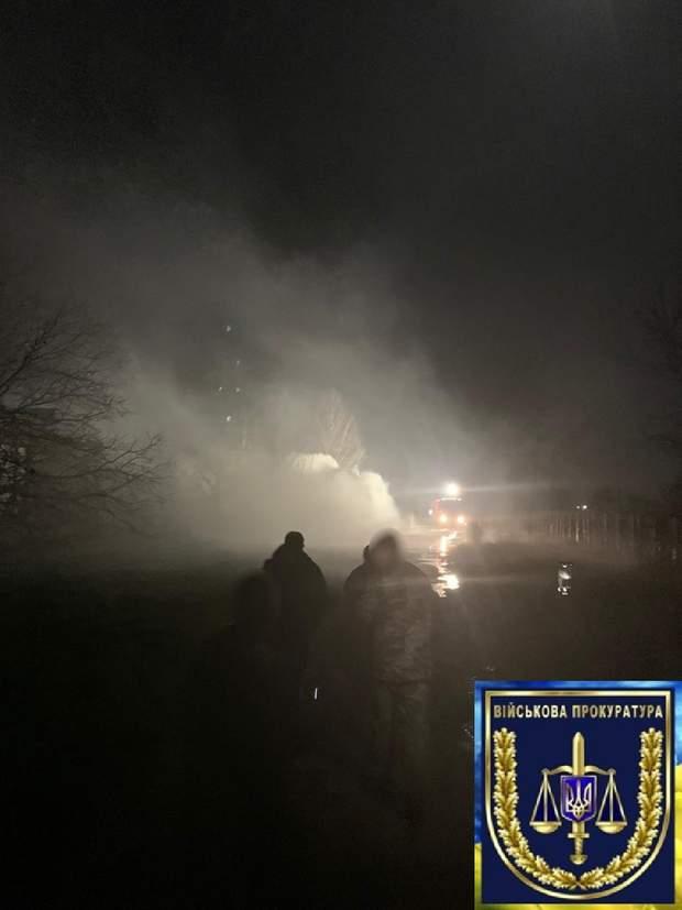 пожежа військова частина